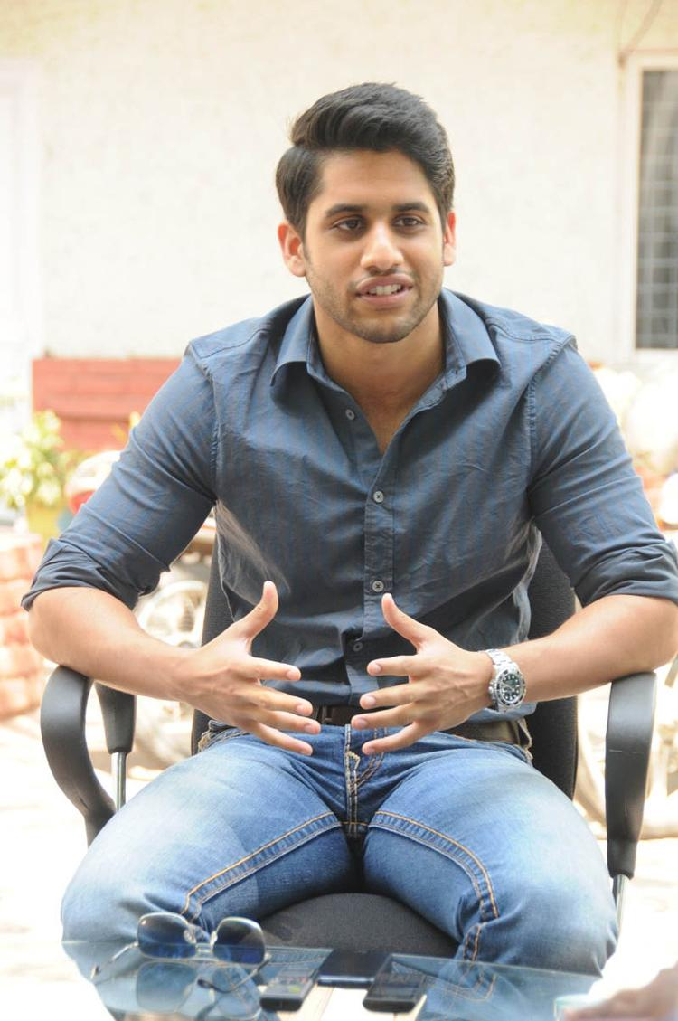 Naga Chaitanya Taking About Movie During The Interview Of Thadaka Movie