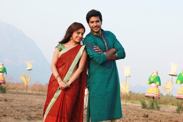 Nisha Agarwal And Sandeep Nice Pic From The New Telugu Movie DK Bose