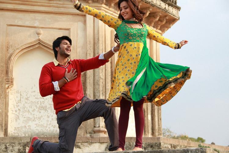 Nisha and Sudeep Dance Still In DK Bose Movie
