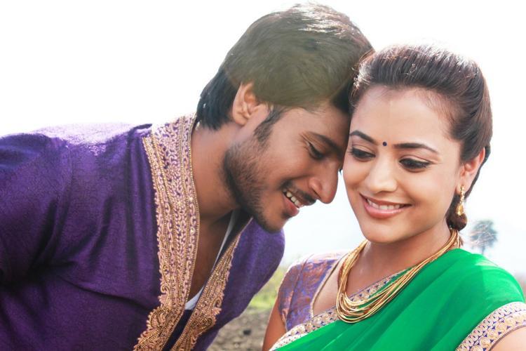 Sudeep Kishan And Nisha Agarwal Romance Pic In DK Bose