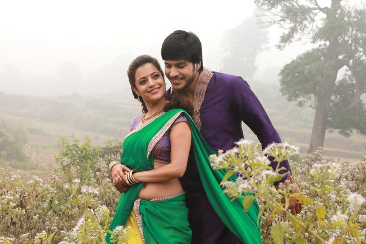 Sudeep Kishan And Nisha Agarwal Song Still From The Movie DK Bose