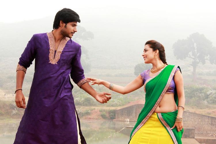 Sudeep Kishan And Nisha Agarwal A Still From Upcoming Movie DK Bose