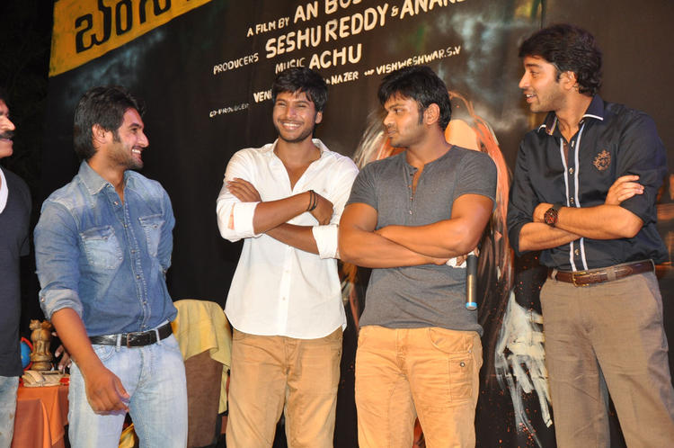 Cast And Crew Launches DK Bose Movie Audio