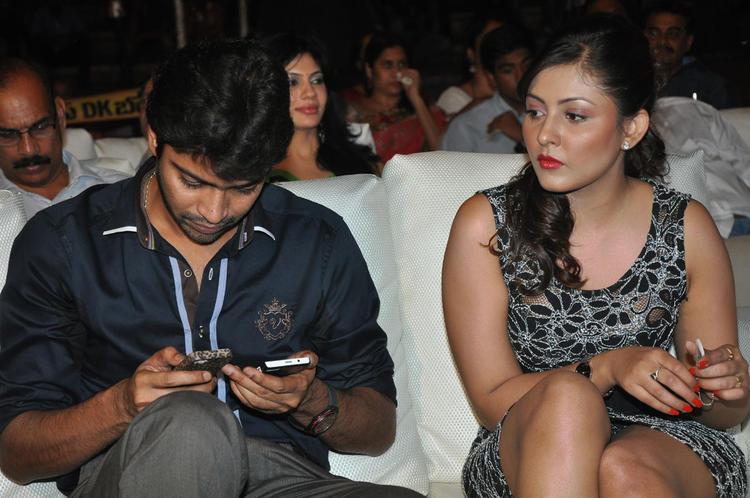 Madhu Salini And Allari Naresh At DK Bose Audio Launch Event