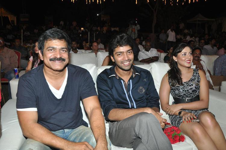 Madhu Salini And Allari Naresh During DK Bose Movie Audio Launch Event