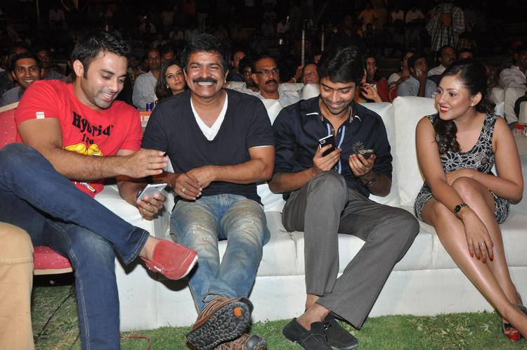 Madhu Salini And Allari Naresh With Others At DK Bose Audio Launch Event