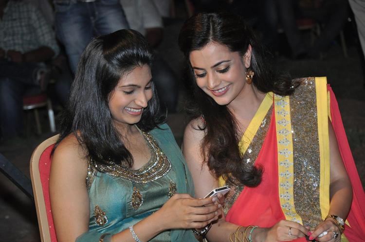 Nisha Agarwal Looks Beautiful In Saree At DK Bose Audio Launch Event