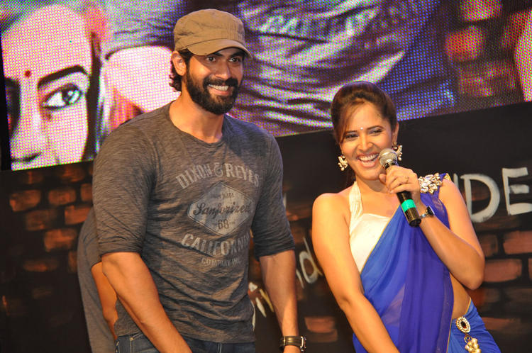 Rana Open Smile Pic During DK Bose Movie Audio Launch