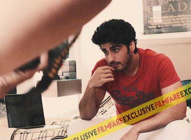 Arjun Kapoor Nice Pic Behind The Scenes Of Filmfare