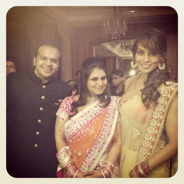 Bipasha Basu Attends Her Friend Marriage Ceremony