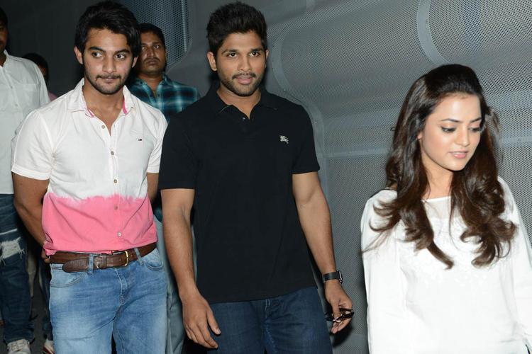 Aadi,Allu Arjun And Nisha Agarwal Attend The Sukumarudu Triple Platinum Disc Function