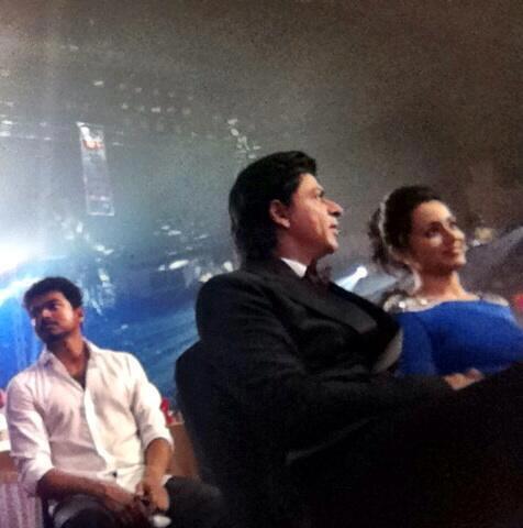 Shahrukh Khan Attend The 7th Vijay Film Awards 2013