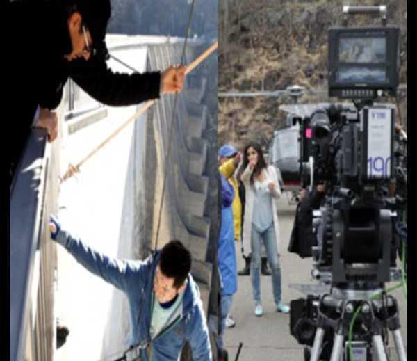 Aamir Khan And Katrina Kaif Shoot Climax Of Dhoom 3