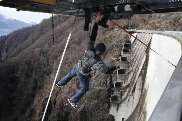 Dhoom 3 Movie Climax Shoot At The Verzasca Dam In Switzerland