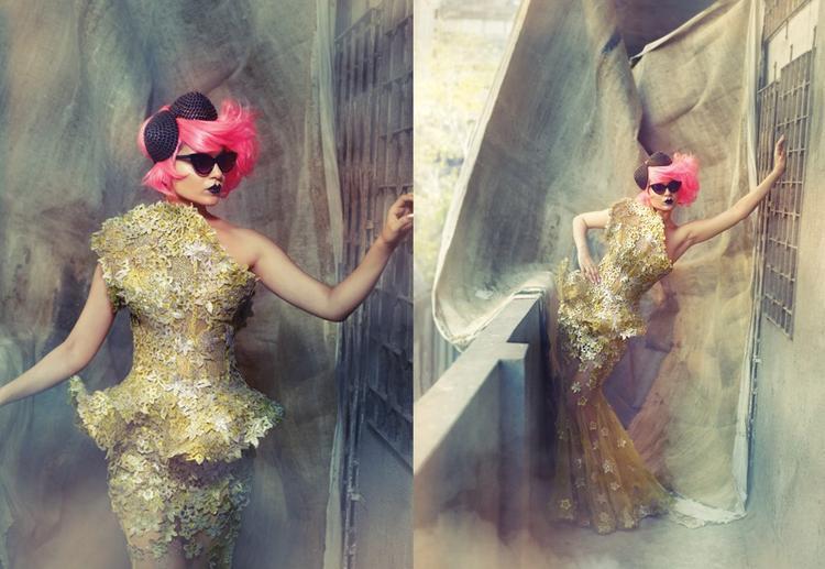 Kangana Ranaut Katy Perry Look Photo Shoot