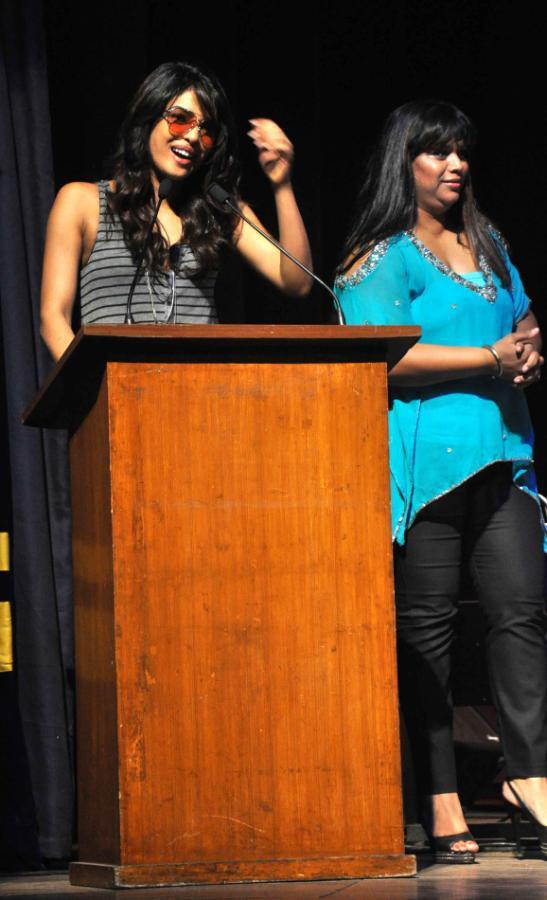 Priyanka Chopra Attended A Musical Concert At St.Andrews College