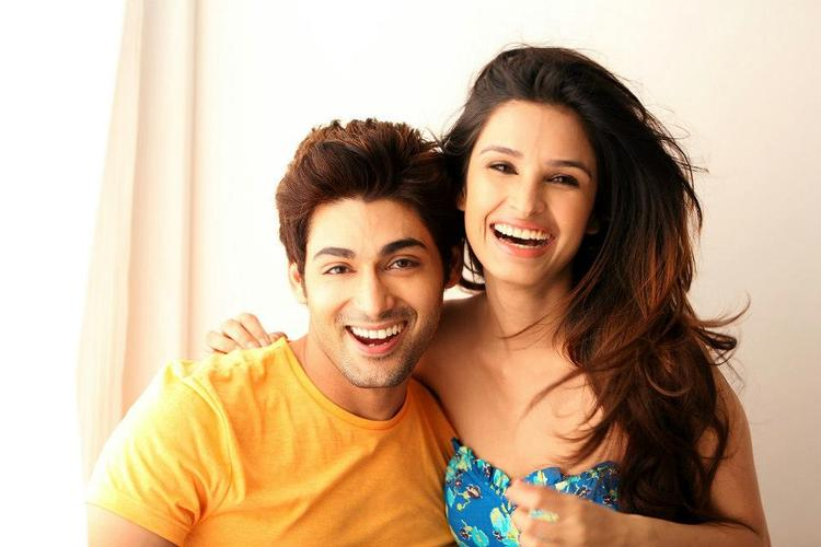 Ruslaan Mumtaz And Chetna Pandey Open Smile Pic In I Don't Love U Movie