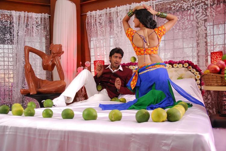 Allari Naresh And Neelam Sexy Dance Still In Action 3 D Movie