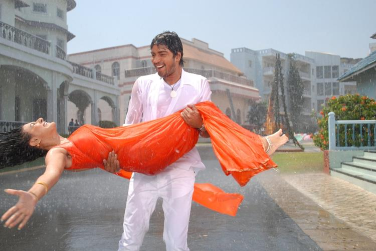 Allari Naresh And Neelam A Song Still From The Movie 3 D