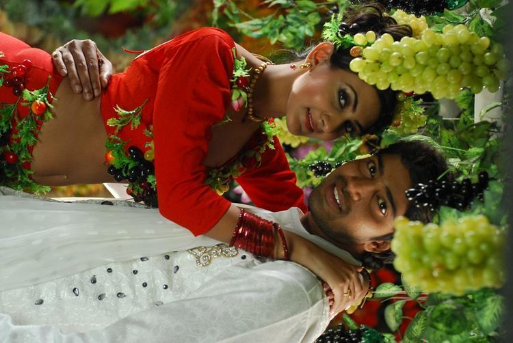 Allari Naresh And Neelam A Still From The Movie 3D