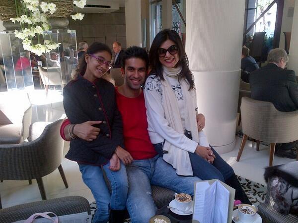 Renee,Rajeev And Sushmita Nice Smiling Photo Still