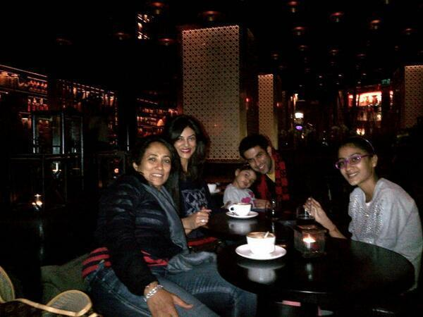 Sushmita,Rajeev,Renee And Alishah Vacations Photo Still