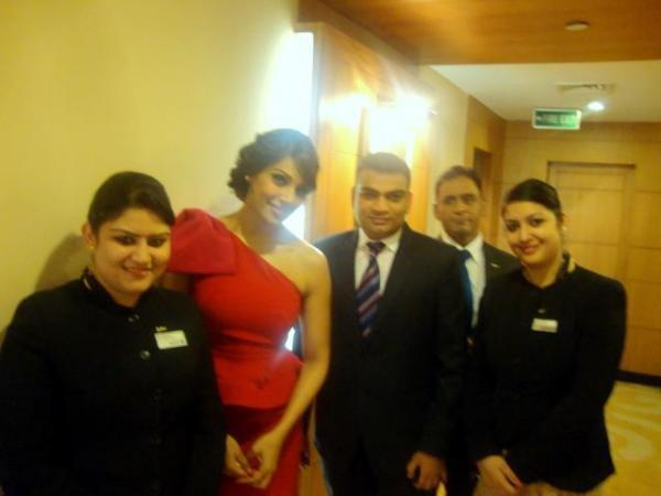 Bipasha Basu At Hotel Radisson For Vijohn Cream Distributors Meet