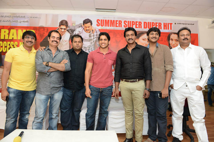 Kishore,S. Thaman,Naga And Sunil Graced At Tadakha Movie Success Meet Event