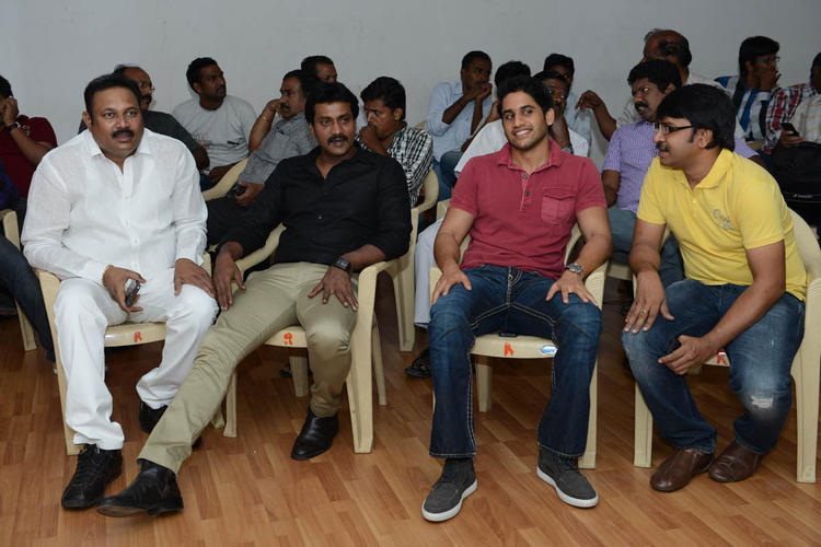 Sunil Varma And Naga Chaitanya Cool At Tadakha Movie Success Meet Event