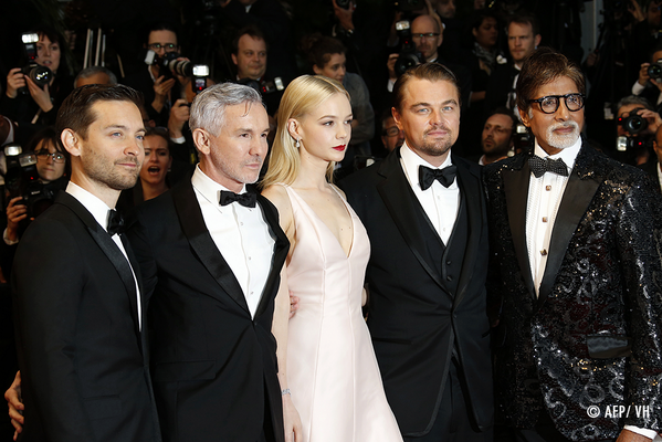 Amitabh Bachchan With Others Great Gatsby Premiere At Cannes Film Festival