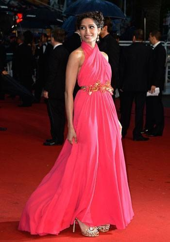 Freida Pinto at The Great Gatsby Premiere at Cannes Film Festival 2013