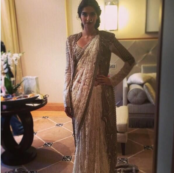 Sonam Kapoor Was Spotted At The Great Gatsby Premiere At The Cannes Film Festival Opening Ceremony