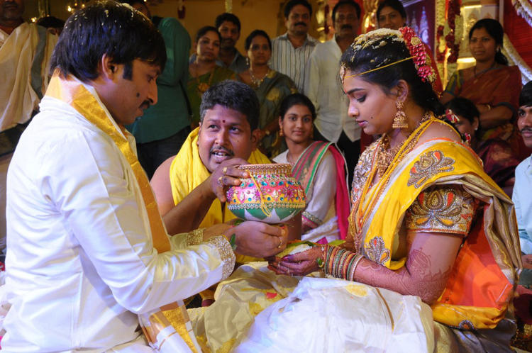 Gopi Chand And Reshma Wedding Rituals Still