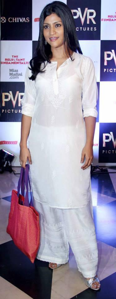Konkona Sen Spotting at Mira Nair Reluctant Fundamentalist In Mumbai