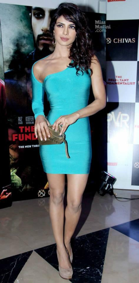 Priyanka Chopra At Mira Nair's Reluctant Fundamentalist