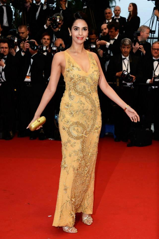 Mallika Sherawat Attends Screening Of The Great Gatsby At Cannes