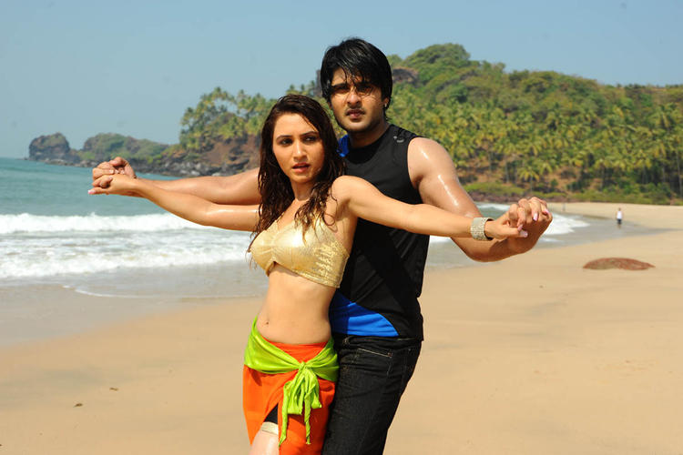 Jayanth And Dhriti Hot Sea Beach Photo From The Movie Love Touch