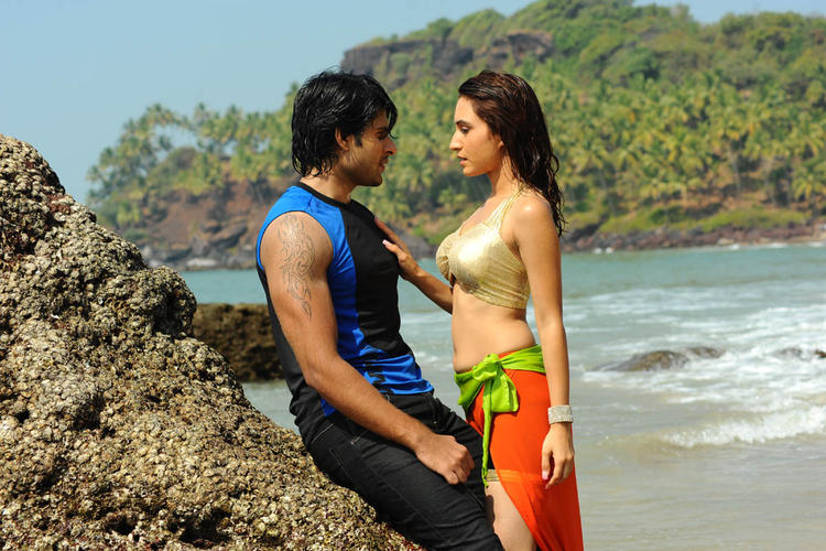 Jayanth And Dhriti Spicy Hot Still From The Movie Love Touch