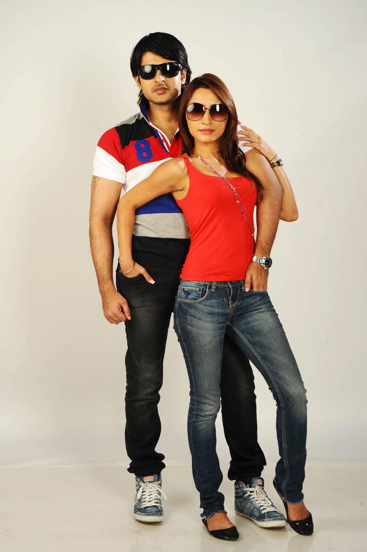 Jayanth And Dhriti Stylist Pose Photo Shoot For Love Touch Movie