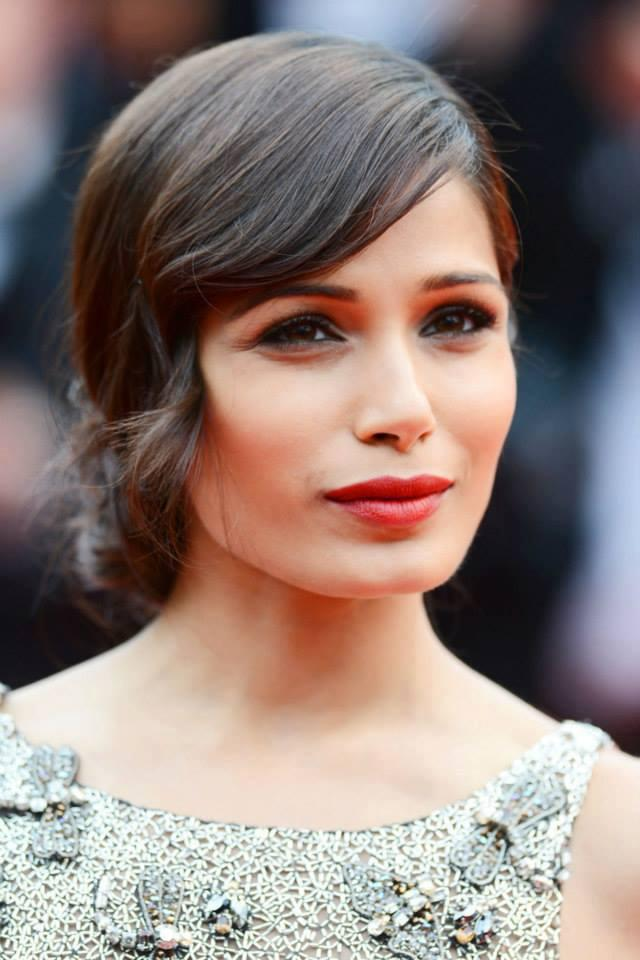 Freida Pinto Looks Stunning At Cannes 66th Film Festival On Red Carpet