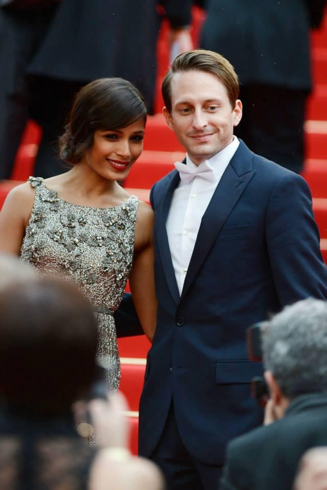 Freida Pinto Walks On Red Carpet At Cannes Film Festival 2013