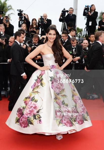 Sonam Kapoor Walks On Red Carpet At Cannes Film Festival For Premire Of Jeune And Jolie
