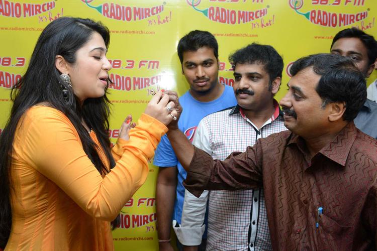 Charmi Kaur Celebrate's Her Birthday Bash At 98.3 FM Radio Mirchi