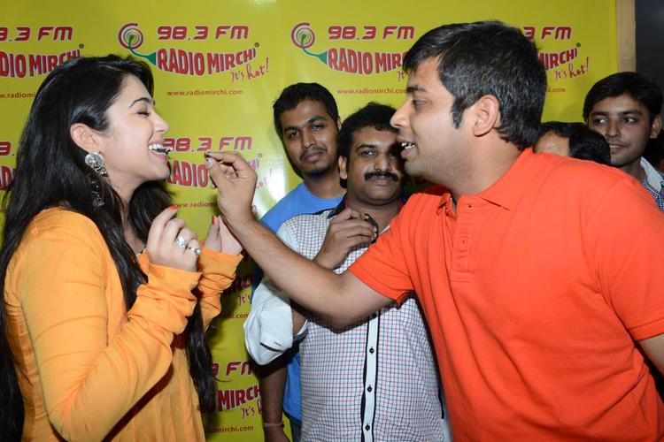 Charmi Kaur Celebrate's Her Birthday At The Promotion Of Prema Oka Maikam Movie