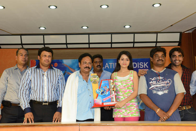 Reshma Launches Her Movie Love Cycle Platinum Disc