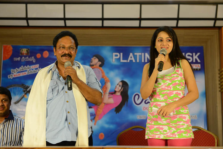 Reshma Speaks During Love Cycle Platinum Disc Function