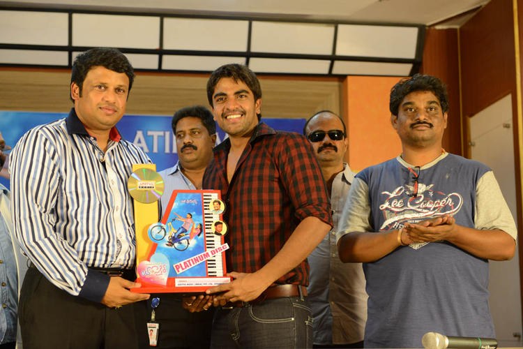 Srinivas Launches Love Cycle Platinum Disc
