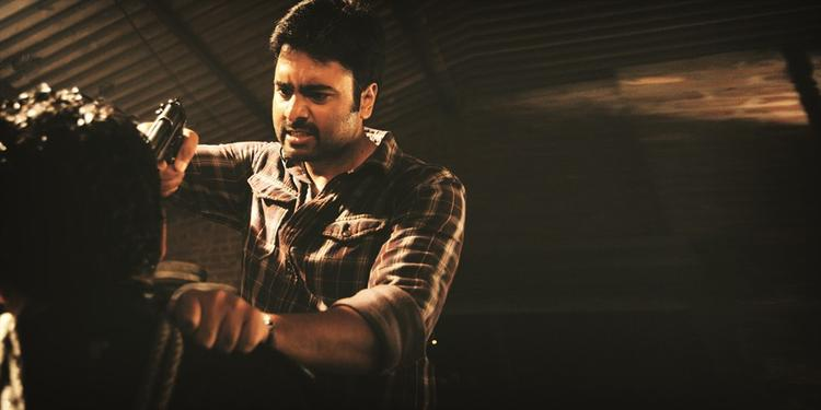 Nara Rohit Fighting Still From Shankara Movie