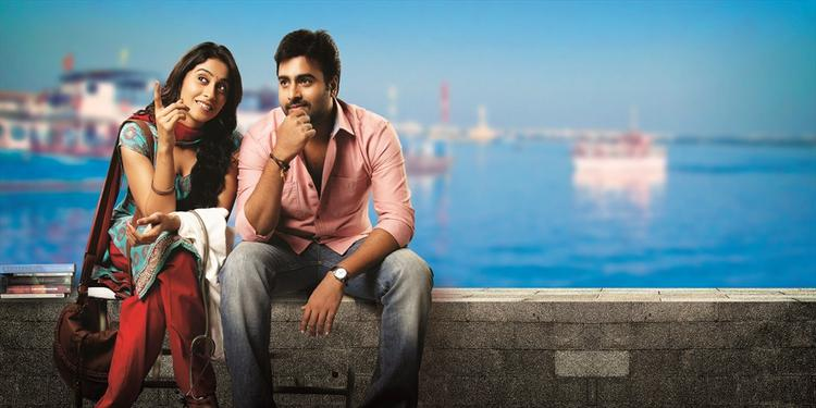 Regina Cassandra And Nara Rohit Cool Gossip Still From Shankara Movie
