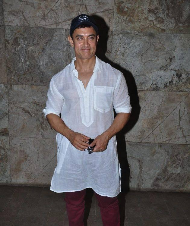 Aamir Khan Captured On Camera While Attending The Screening of the Hollywood movie Star Trek-Into Darkness